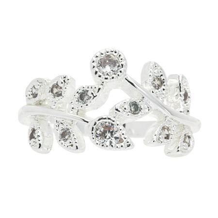 Sparkle Allure Cocktail Ring, 7 , No Color Family