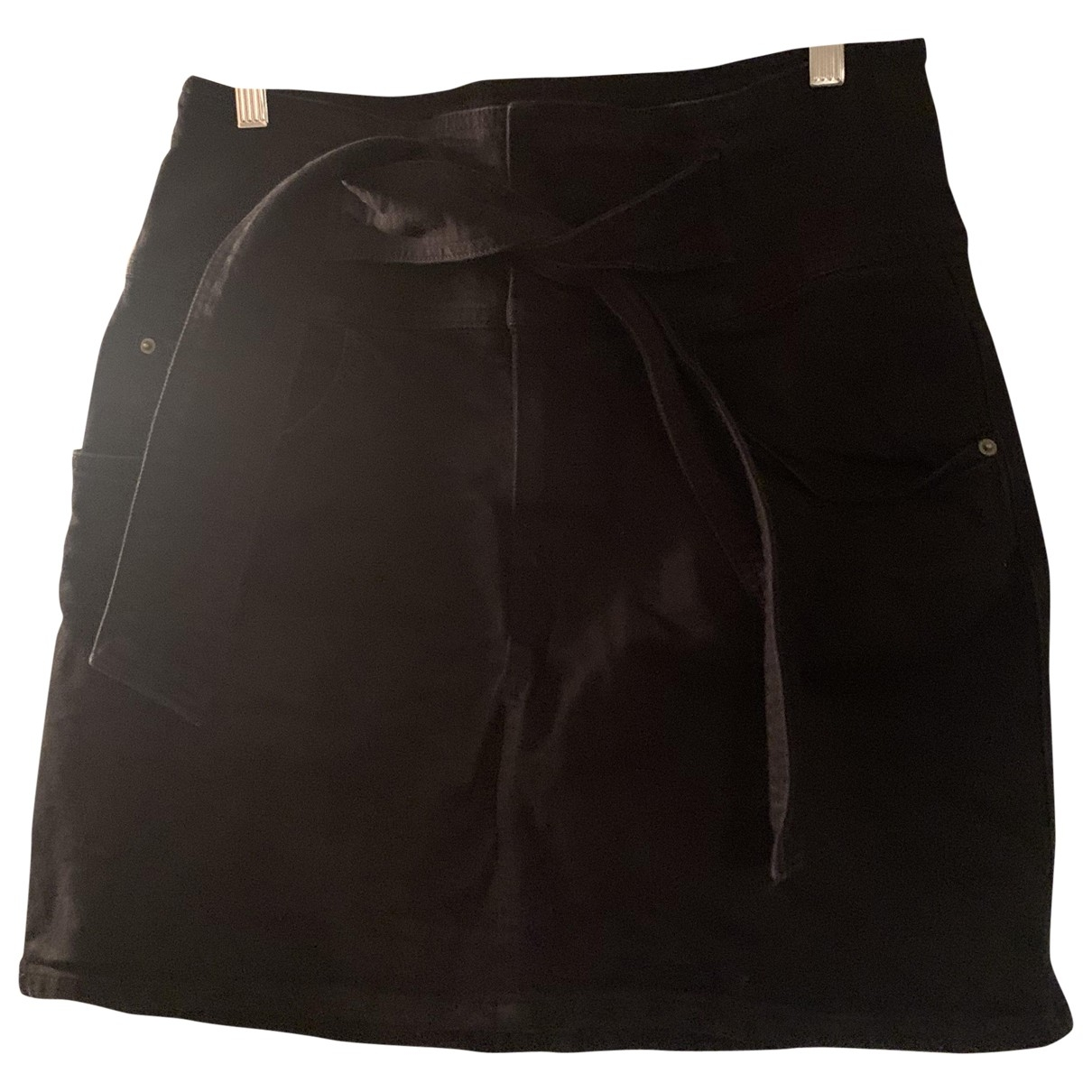 Rebecca Minkoff \N Rocke in  Schwarz Denim - Jeans