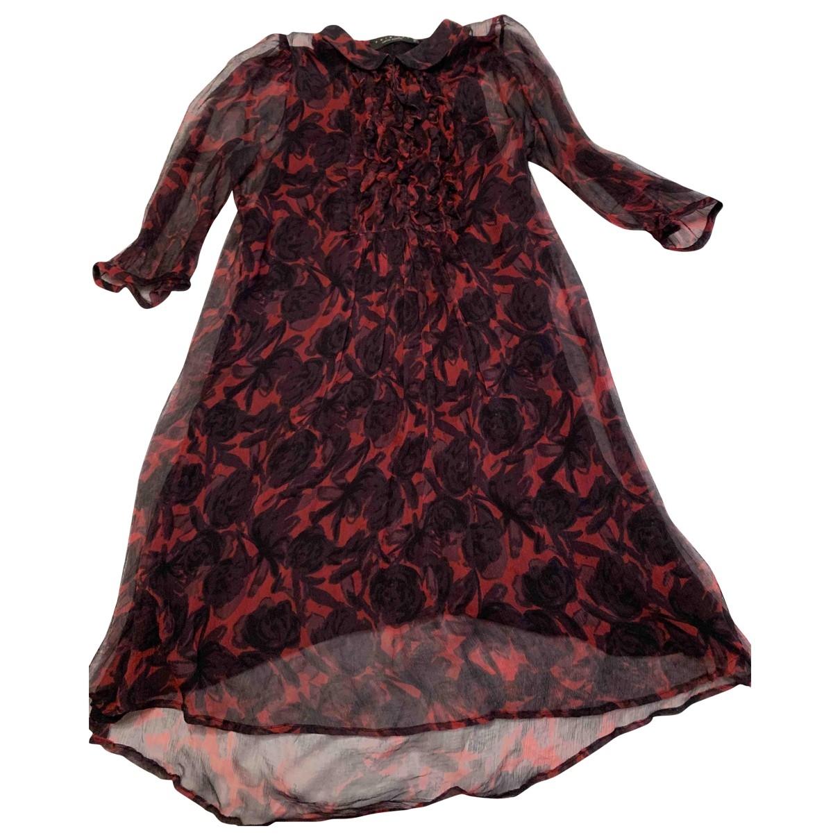 Twin Set \N Red Silk dress for Women S International
