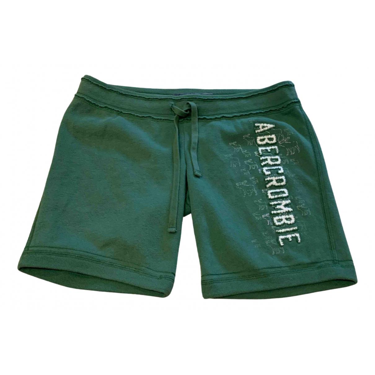 Abercrombie & Fitch \N Shorts in  Gruen Baumwolle