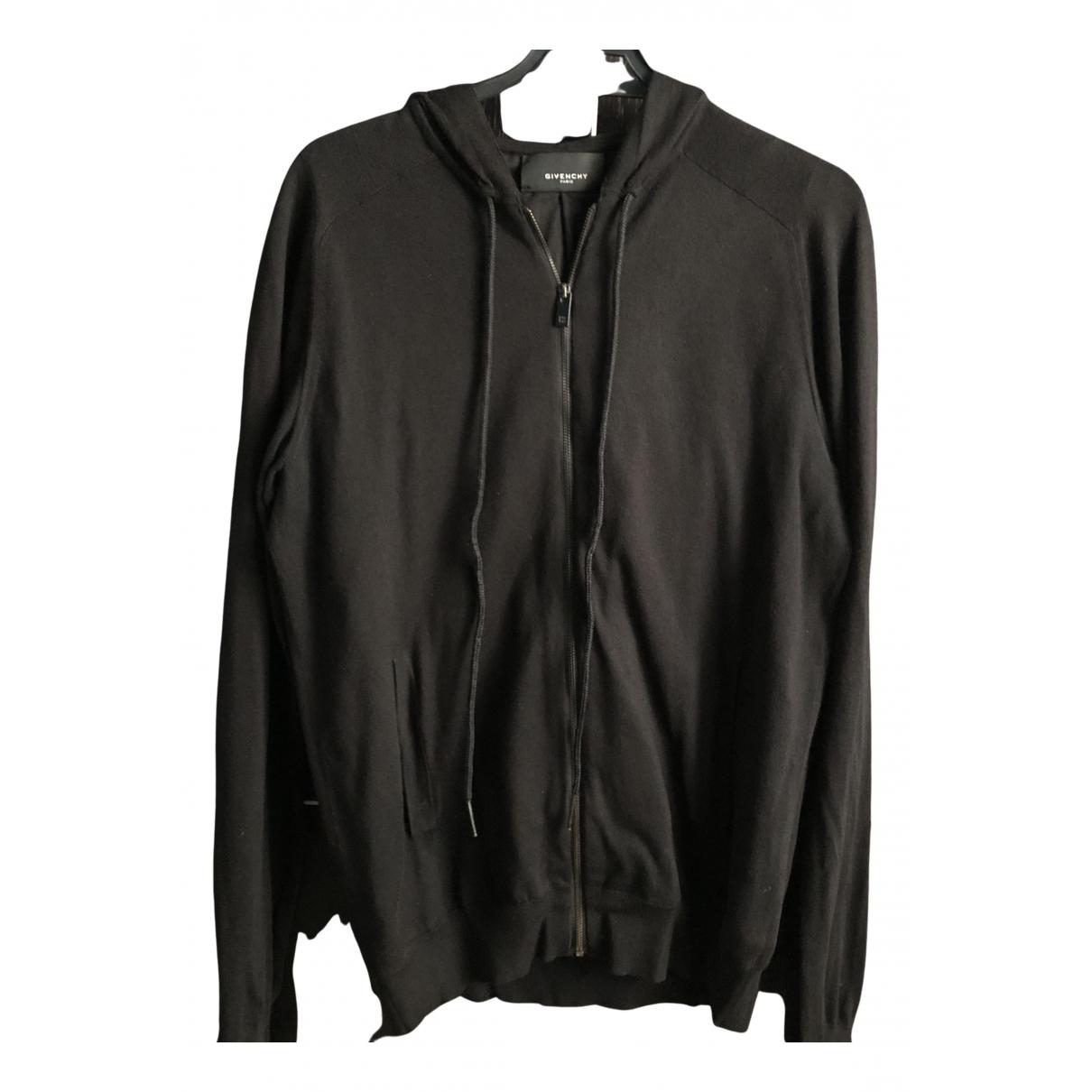 Givenchy \N Pullover.Westen.Sweatshirts  in  Schwarz Seide