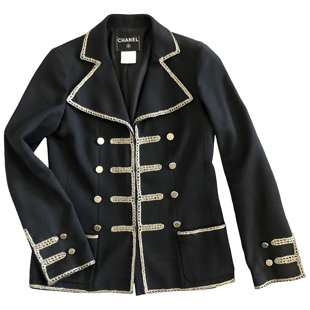 Chanel \N Navy Cotton jacket for Women 40 FR