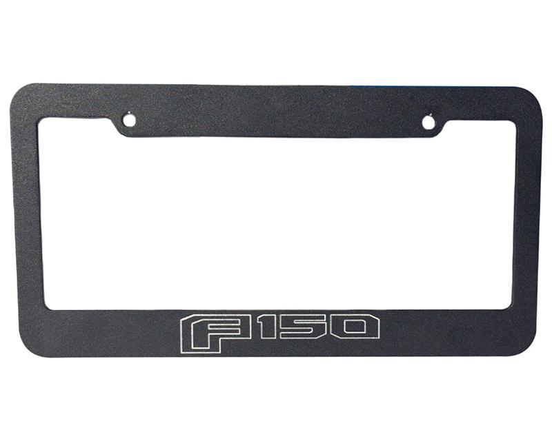 Defenderworx 901342 License Plate Frame-Black Ford F-150 2015-2021