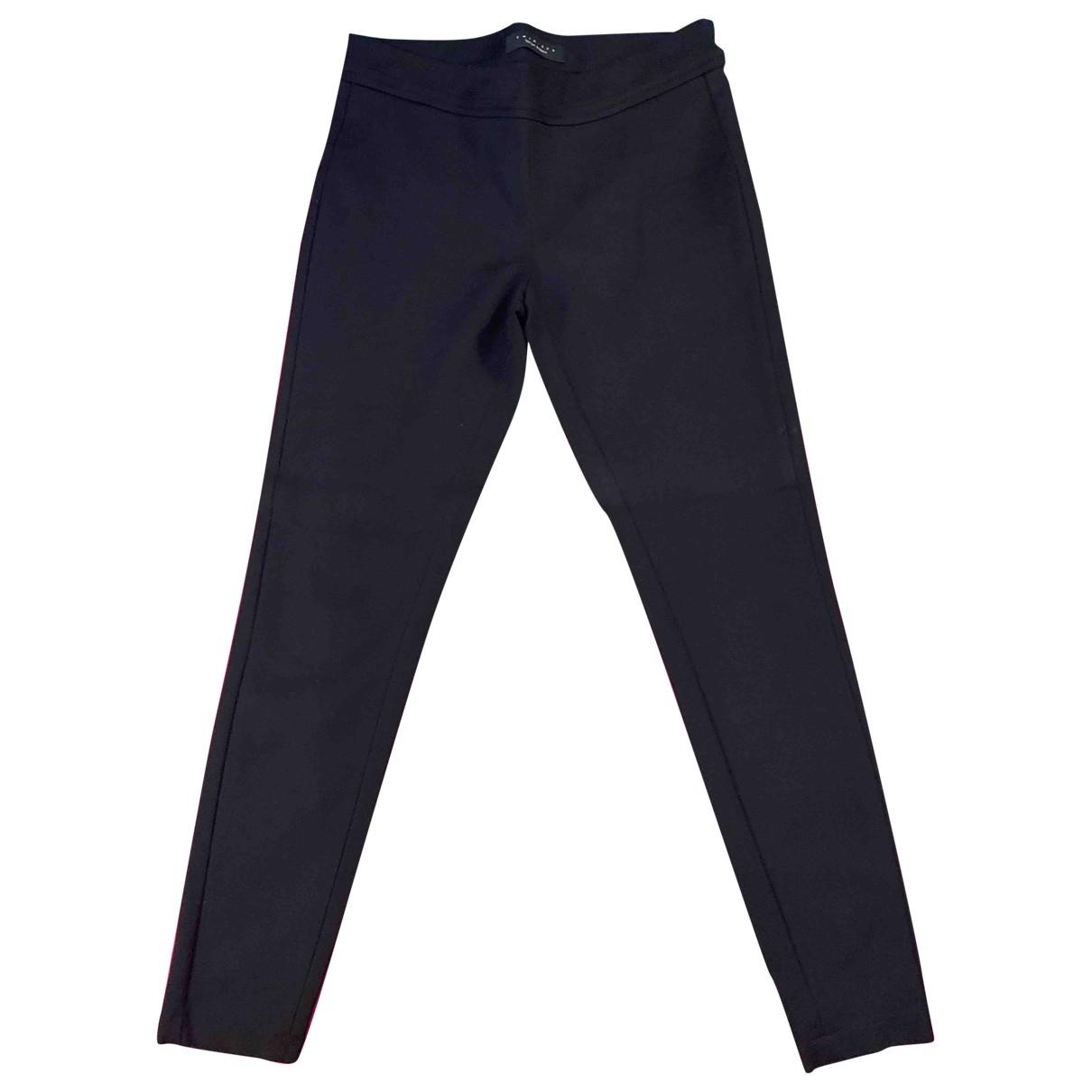 Twin Set \N Black Cotton Trousers for Women XS International
