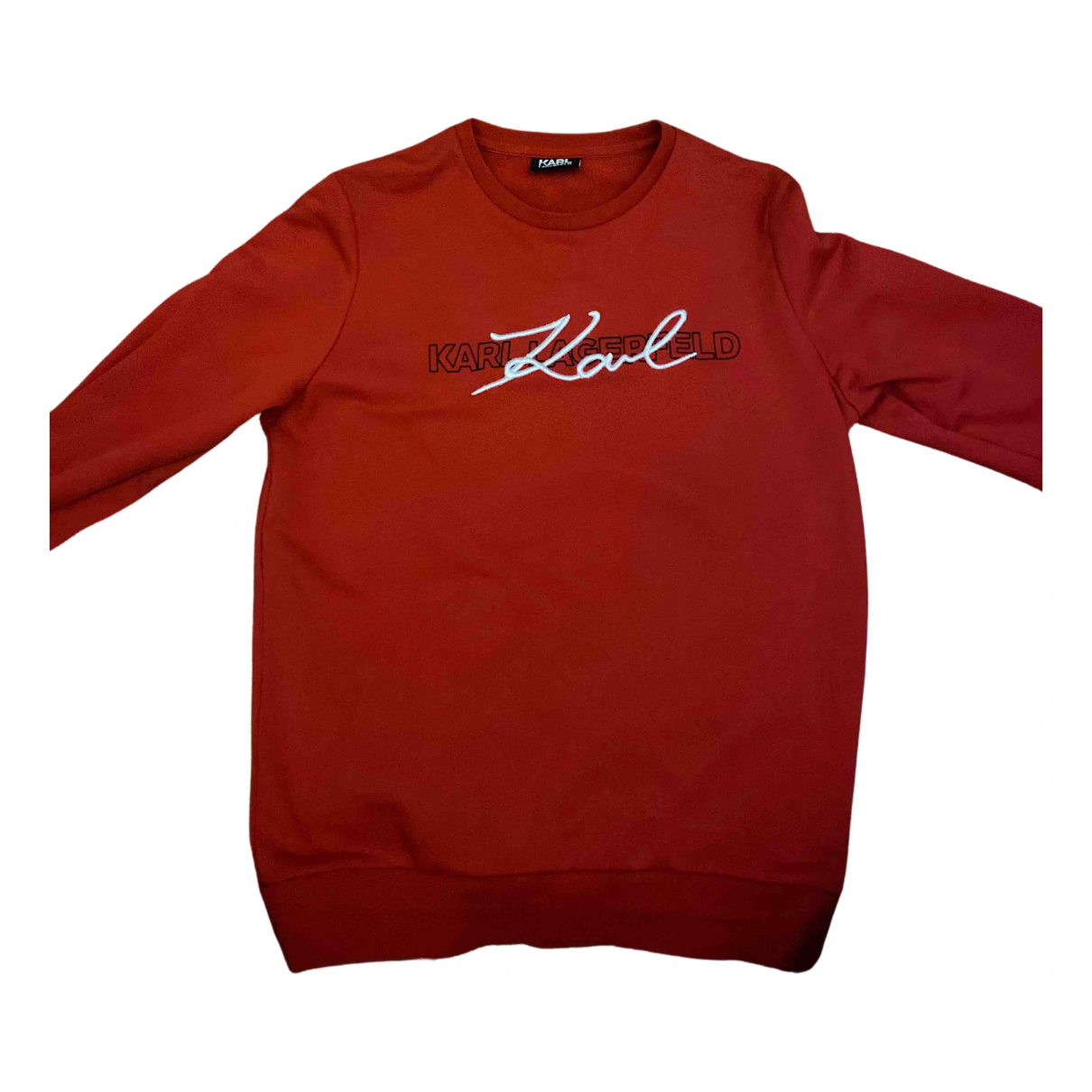 Karl - Pulls.Gilets.Sweats   pour homme en coton - rouge
