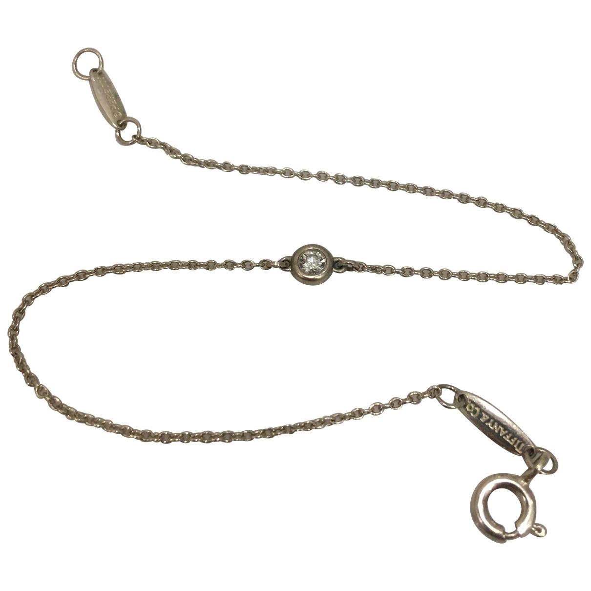 Tiffany & Co - Bracelet Elsa Peretti  pour femme en argent - argente