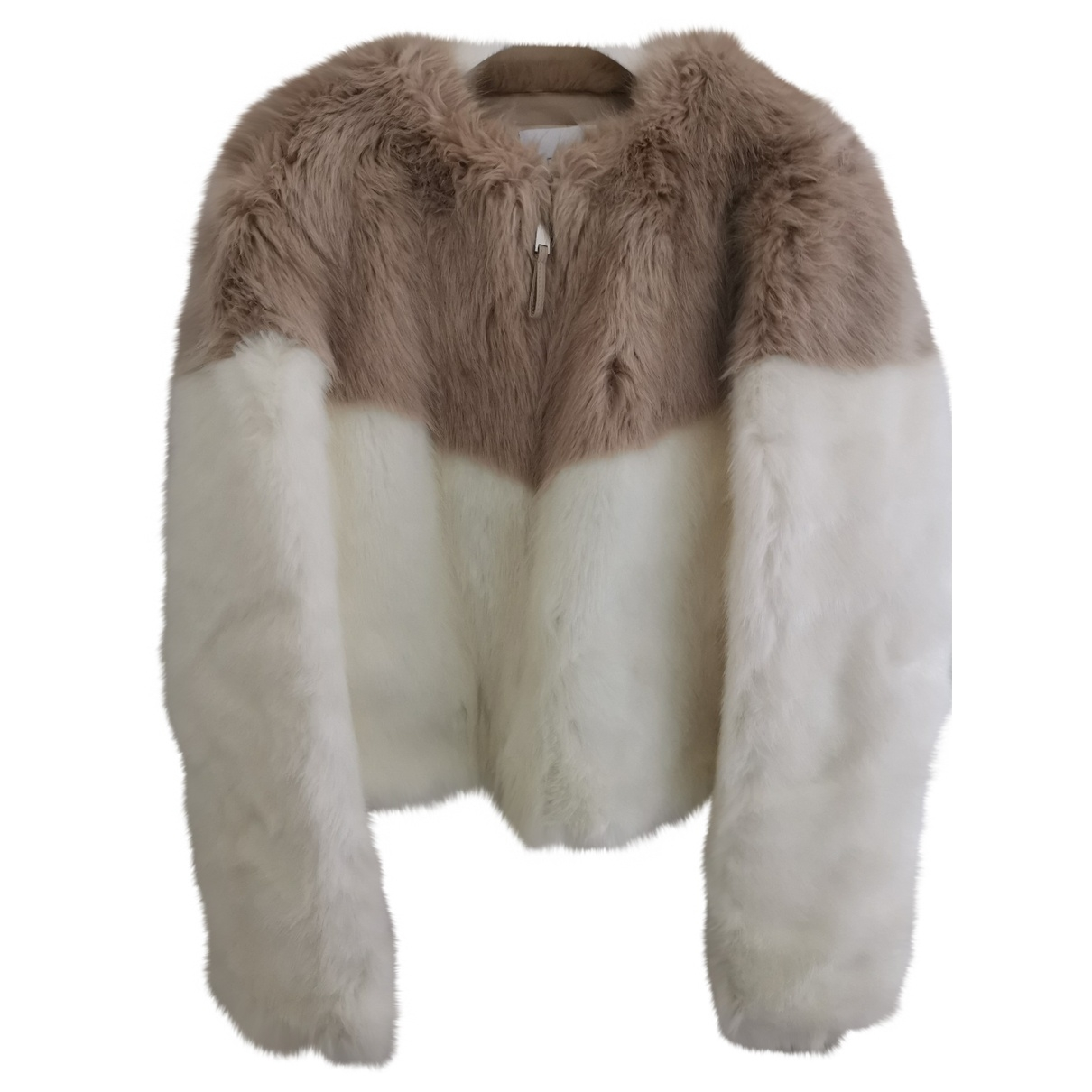 Dondup \N Beige Faux fur coat for Women 42 FR