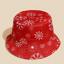 Christmas Pattern Bucket Hat