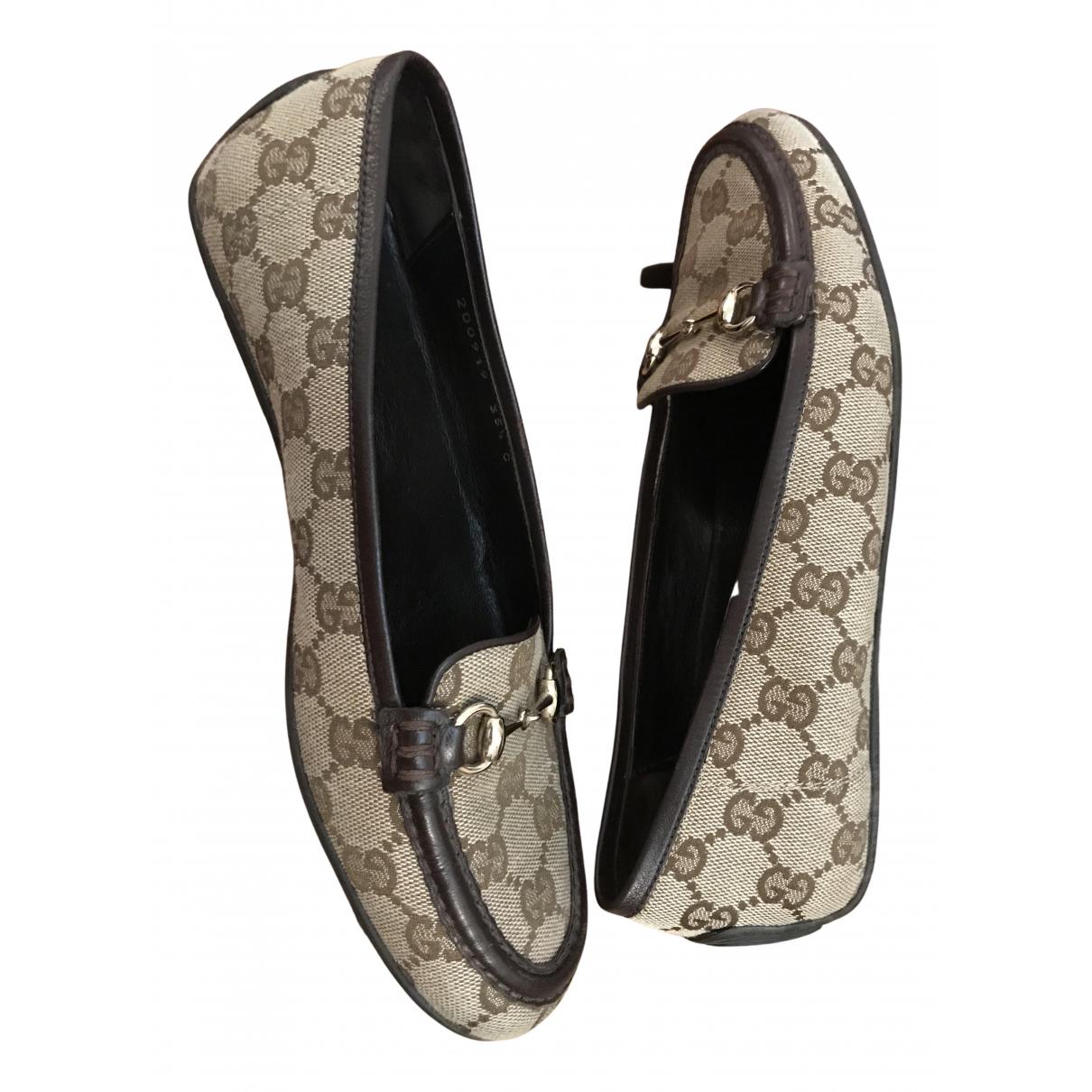 Mocasines de Lona Gucci
