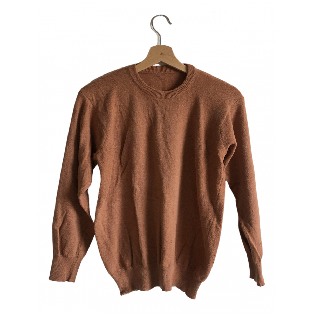 Non Signé / Unsigned N Camel Wool Knitwear for Women S International