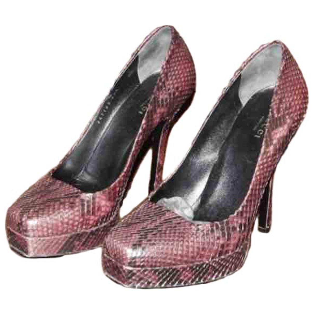 Gucci - Escarpins   pour femme en python - violet