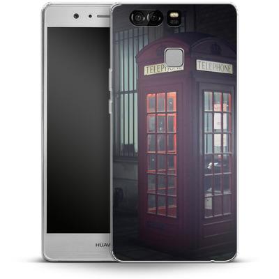 Huawei P9 Silikon Handyhuelle - London Calling 2 von Ronya Galka