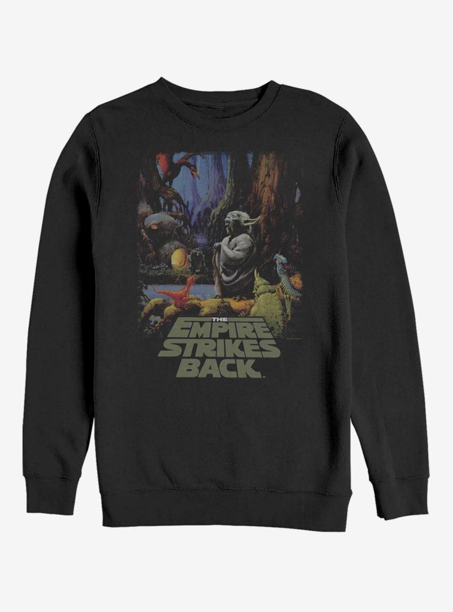 Star Wars Yoda Logo Sweatshirt