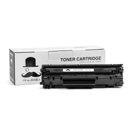 Compatible HP 78X CE278X Black LaserJet Toner Cartridge by Moustache, 1 Pack - High Yield
