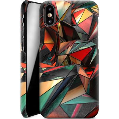 Apple iPhone XS Smartphone Huelle - Dirty Triangles von Danny Ivan
