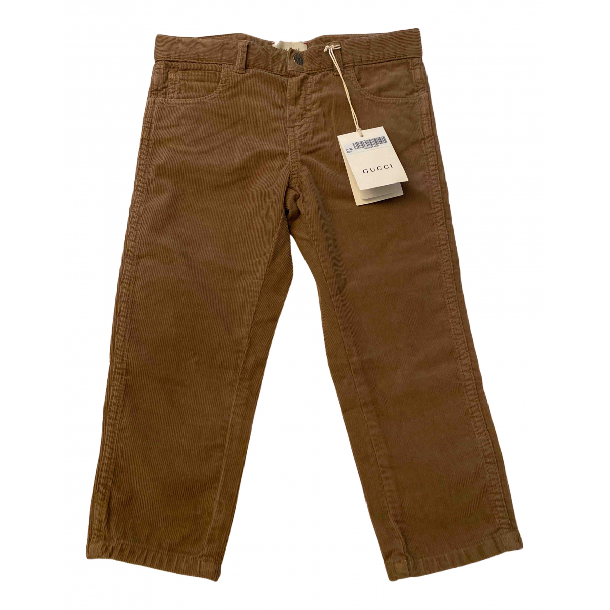 Gucci N Brown Cotton Trousers for Kids 3 years - up to 98cm FR