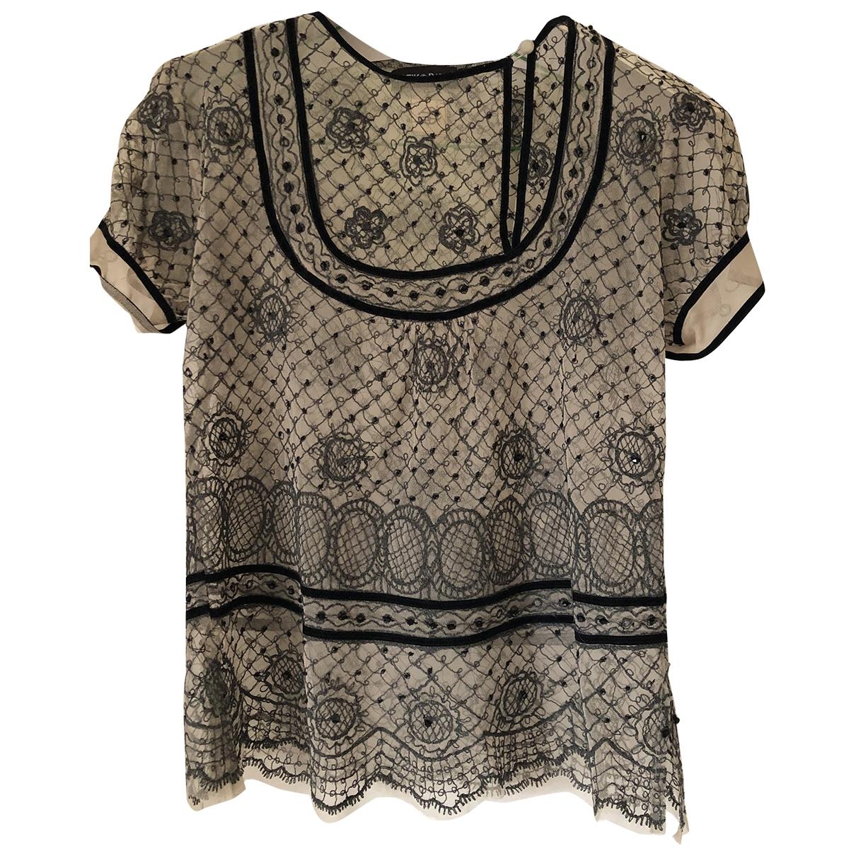 Blusa de Encaje Antik Batik