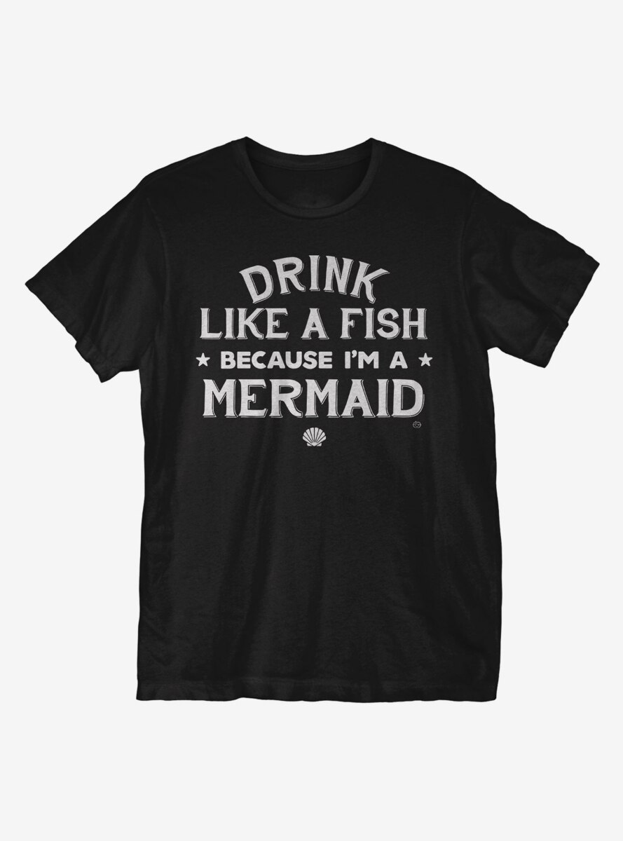 Drink Like A Fish T-Shirt