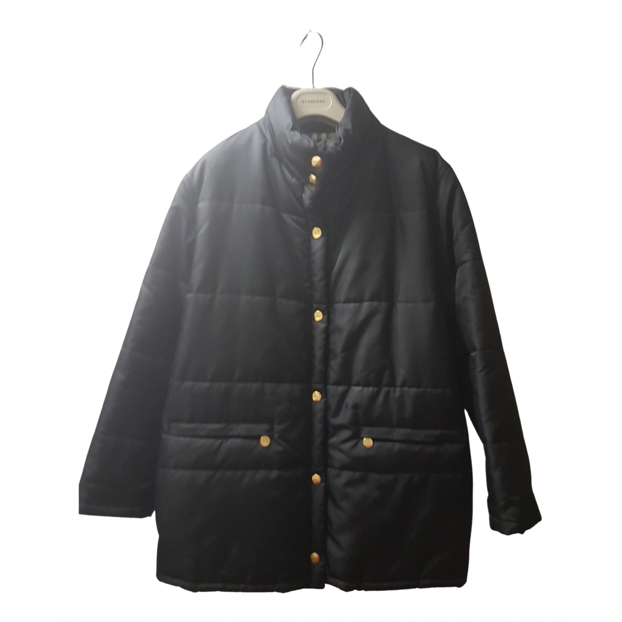 Burberry N Black coat for Women 40 IT