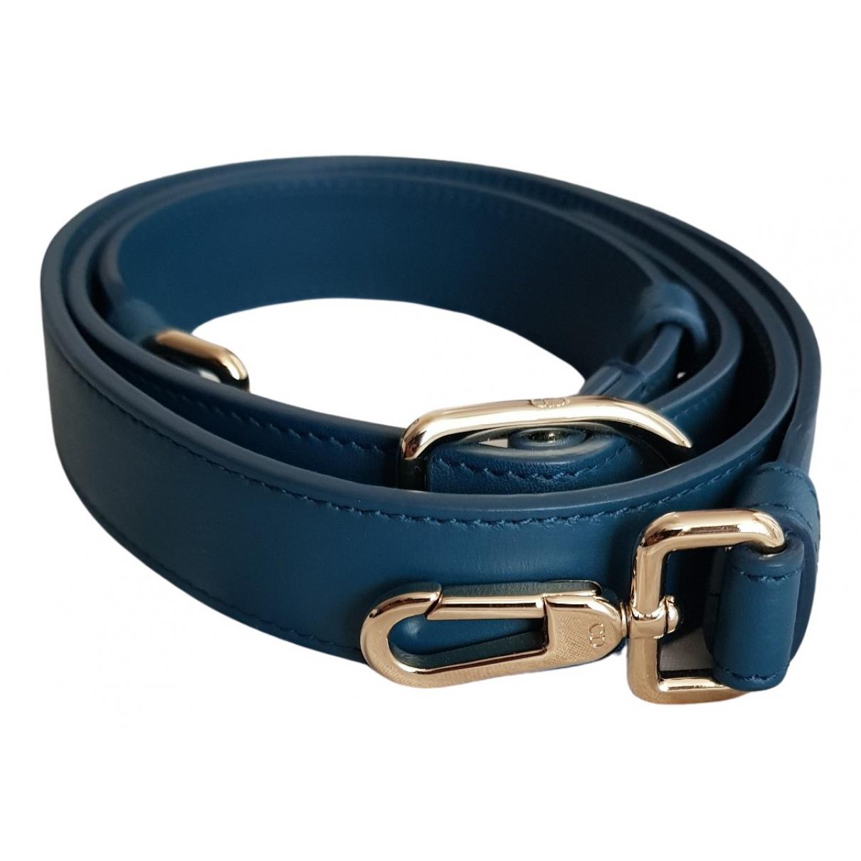 Dior - Petite maroquinerie   pour femme en cuir - bleu