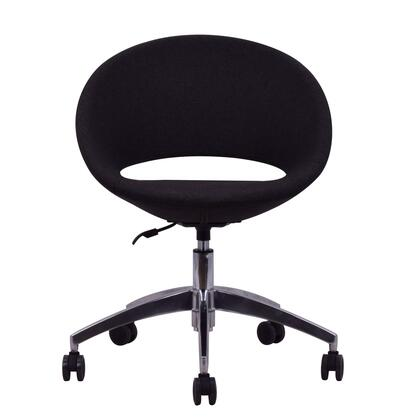 Delancey 200-MCD-CHW-ALOB Office Chair in Black
