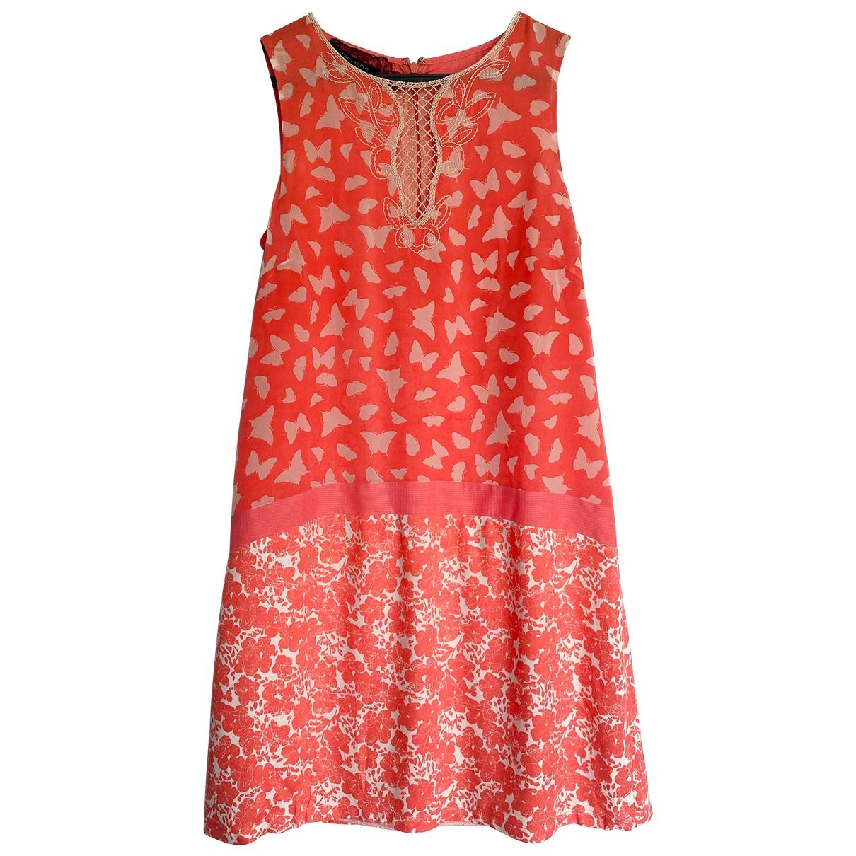 Patrizia Pepe - Robe   pour femme en soie - rose