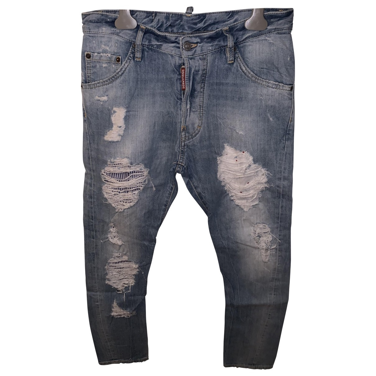Dsquared2 \N Navy Denim - Jeans Trousers for Men 44 IT