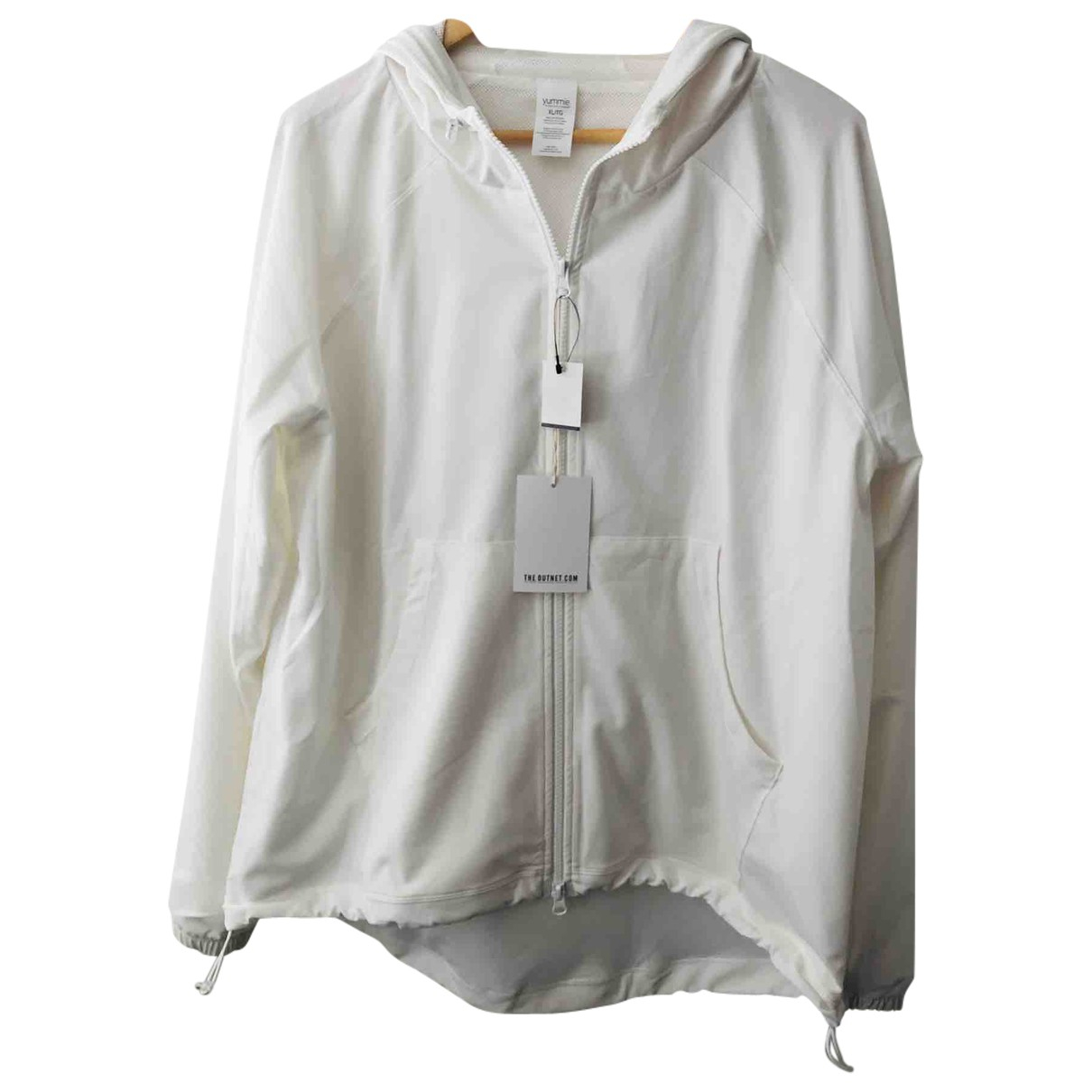 Non Signé / Unsigned \N White jacket for Women XL International
