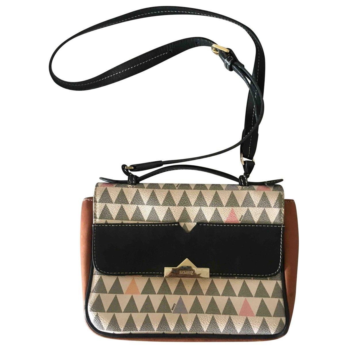 Schutz \N Handtasche in  Bunt Lackleder