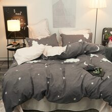 Bettdecke mit Sternenhimmel Muster
