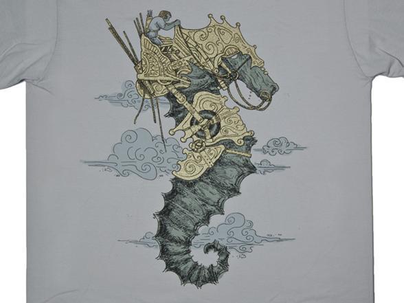 Sea Chariot T Shirt