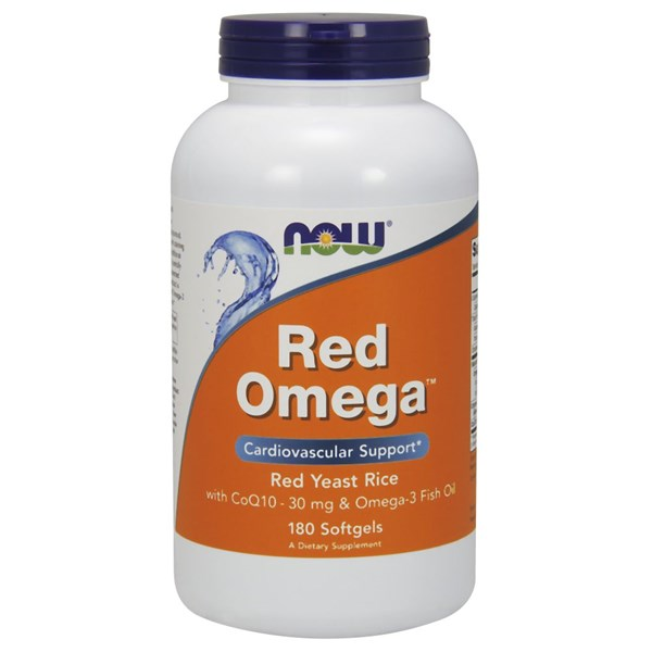 Red Omega 180 Softgels by Now Foods