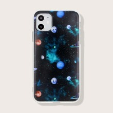 iPhone Schutzhuelle mit Galaxie Muster