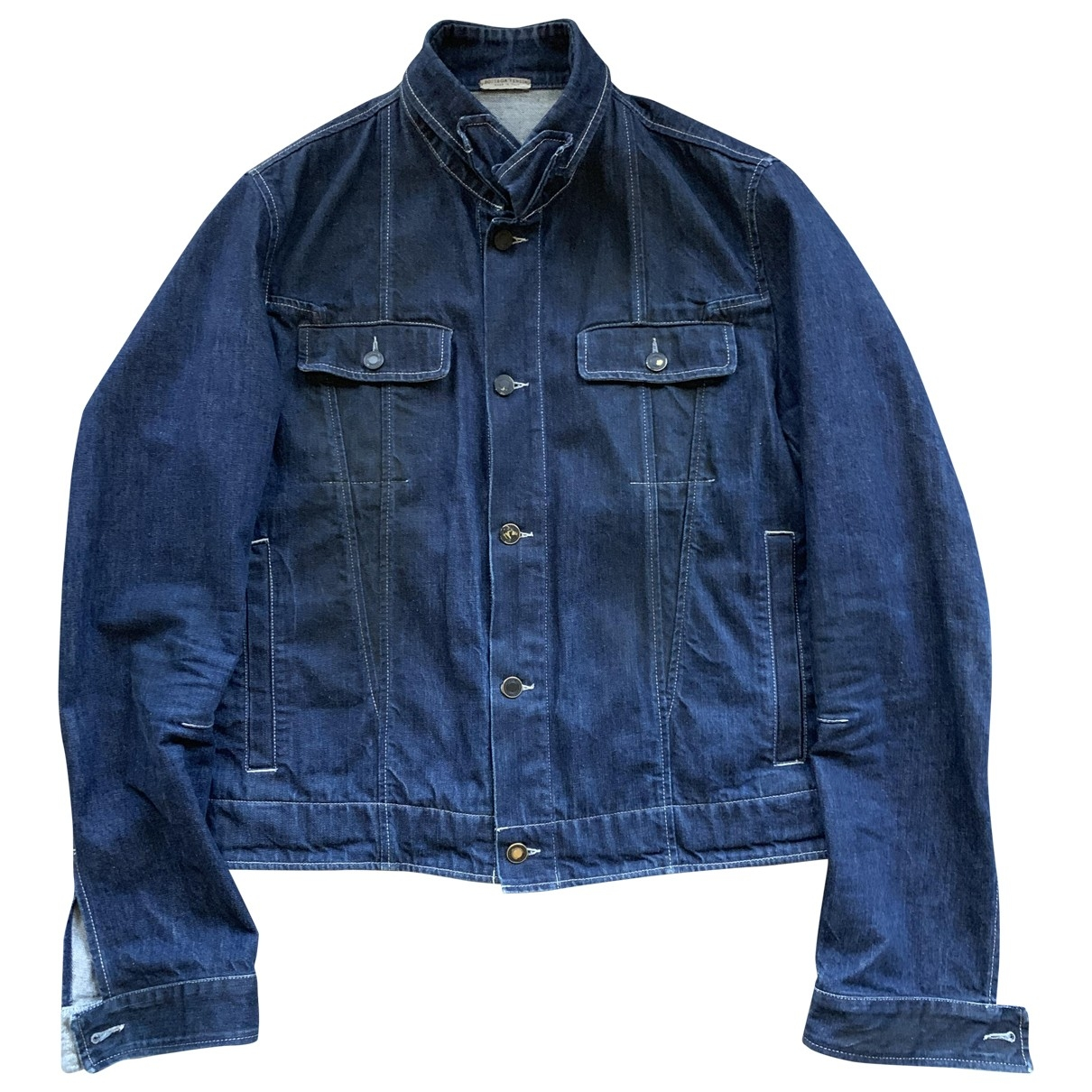Bottega Veneta \N Jacke in  Blau Denim - Jeans