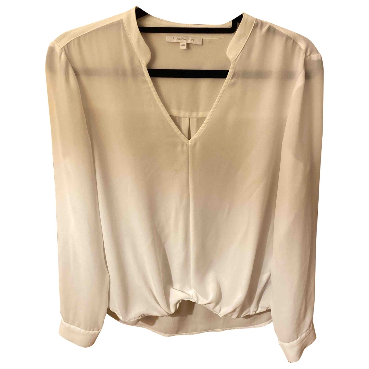 Patrizia Pepe \N Top in  Weiss Polyester
