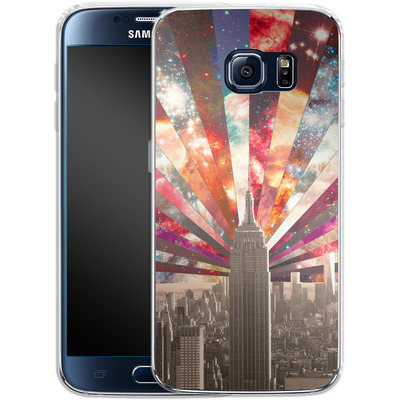 Samsung Galaxy S6 Silikon Handyhuelle - Superstar New York von Bianca Green