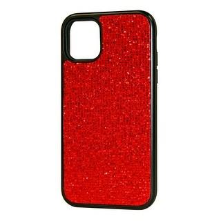 Reiko DIAMOND RHINESTONE Case For APPLE IPHONE 11 (Red)