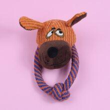 Hund Spielzeug mit Karikatur Design