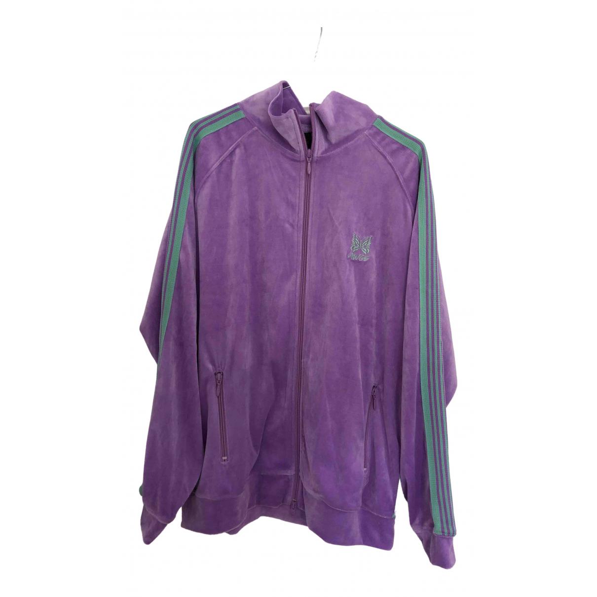 Needles \N Purple Velvet jacket  for Men L International