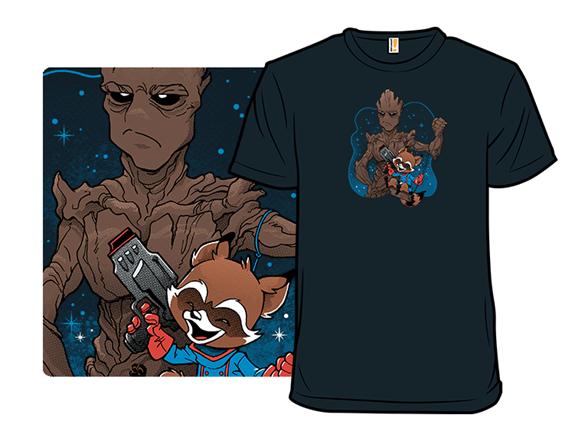 Galaxy Bffs T Shirt