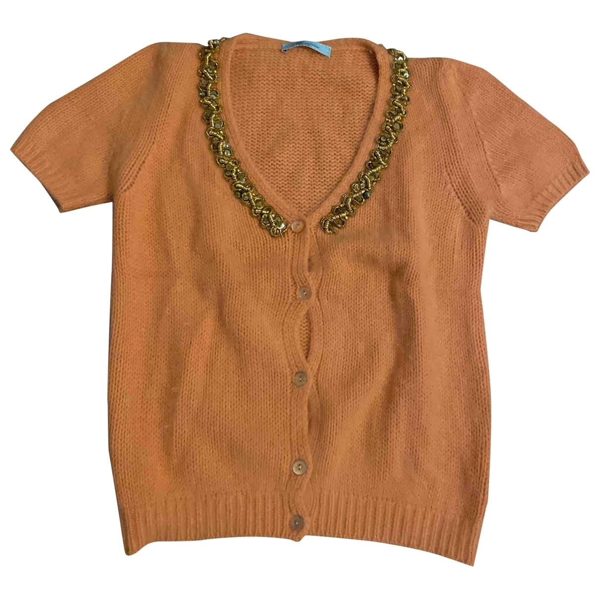 Blumarine \N Pullover in  Orange Wolle