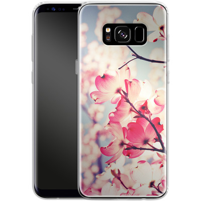 Samsung Galaxy S8 Silikon Handyhuelle - Dialogue With The Sky von Joy StClaire