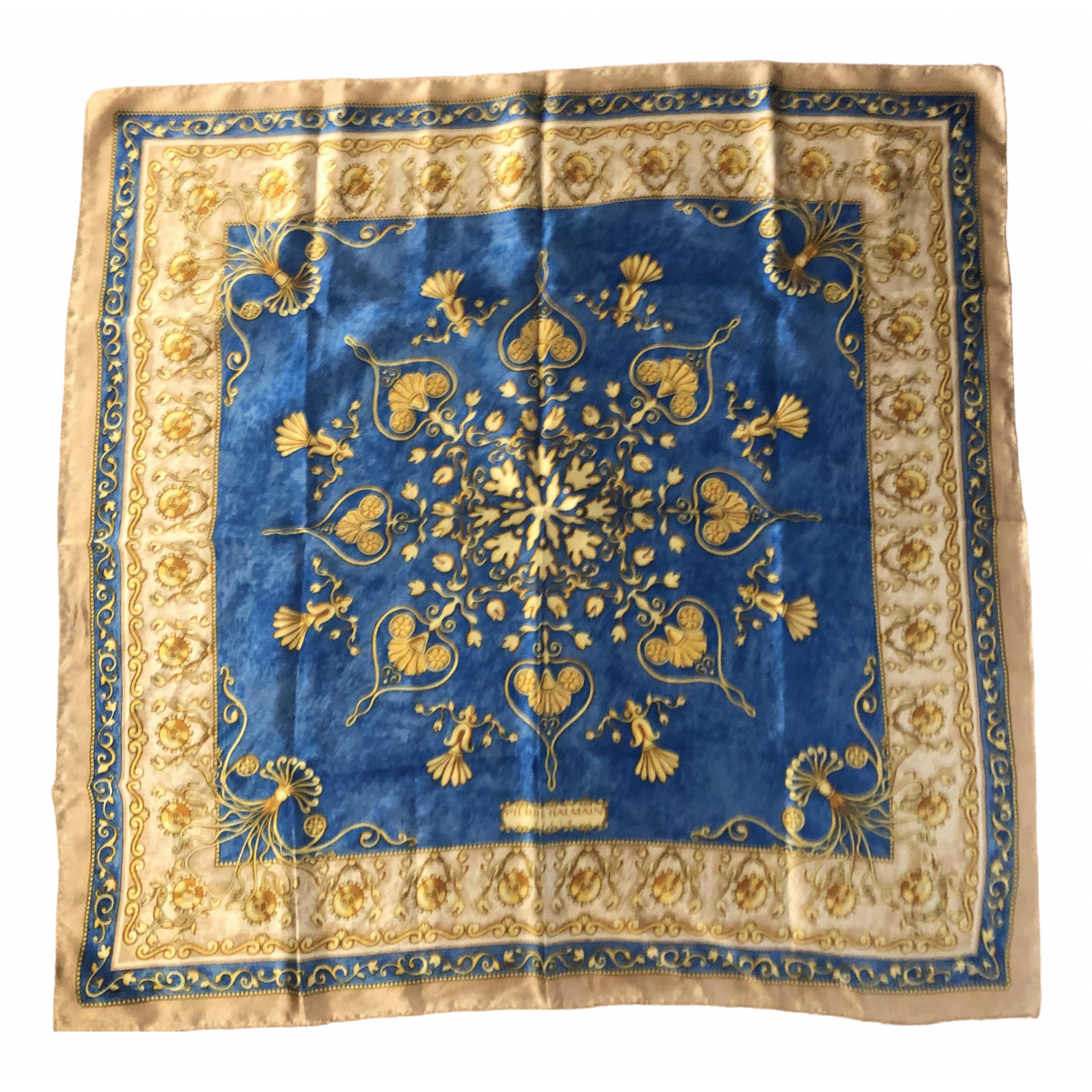 Balmain \N Blue Silk Silk handkerchief for Women \N