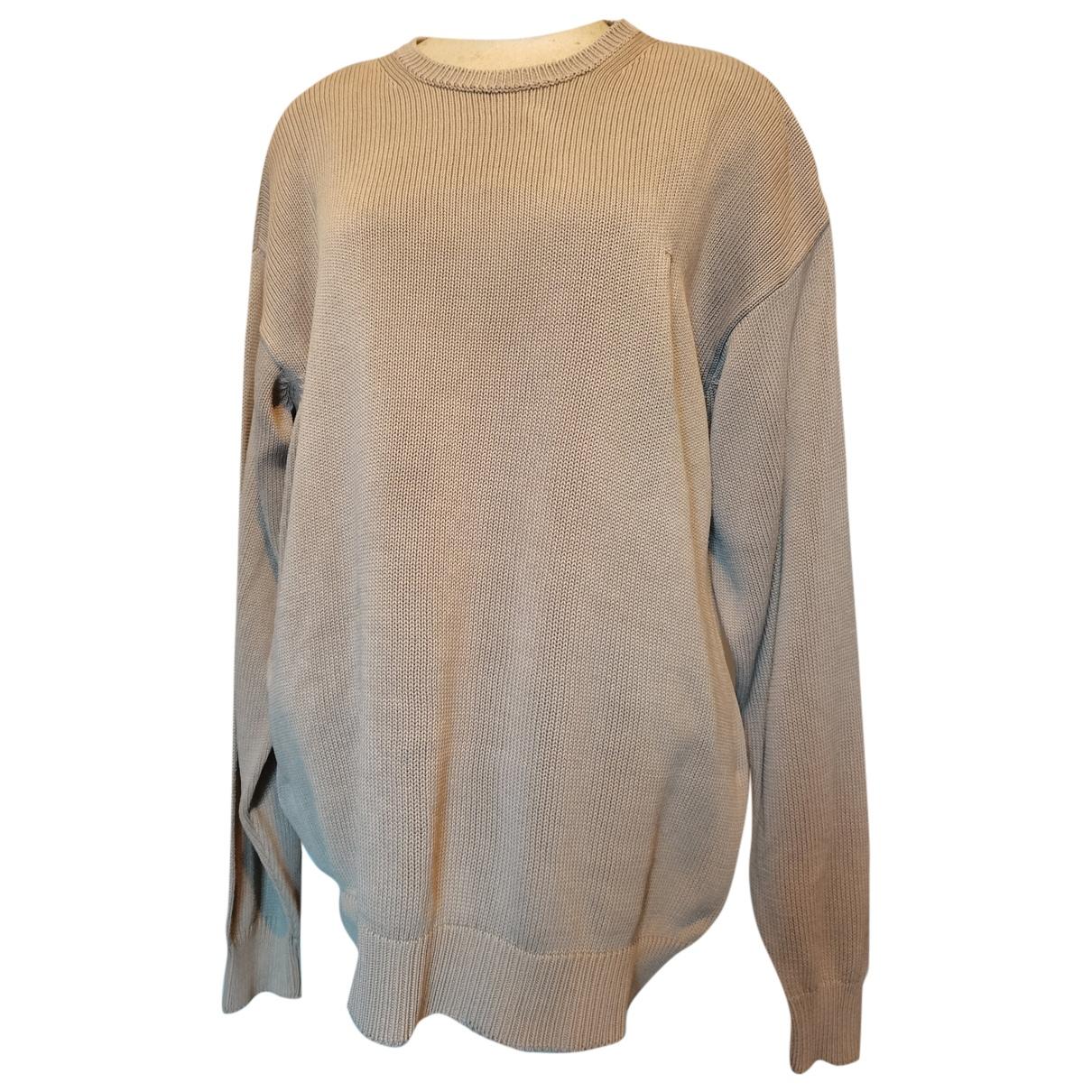 Trussardi - Pulls.Gilets.Sweats   pour homme en coton - beige