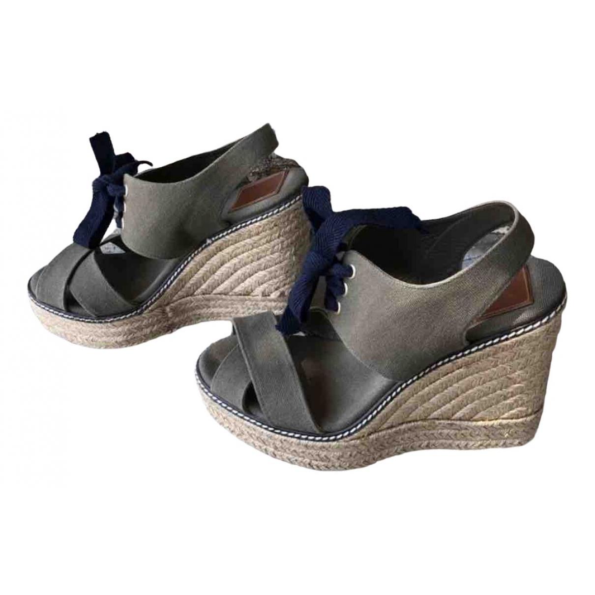 Sandalias romanas de Lona Tory Burch