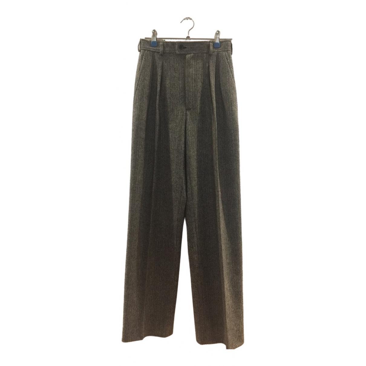 Pantalon de traje de Lana Yves Saint Laurent