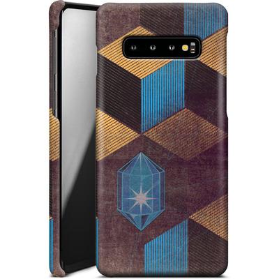 Samsung Galaxy S10 Plus Smartphone Huelle - Cubes Gems von Brent Williams