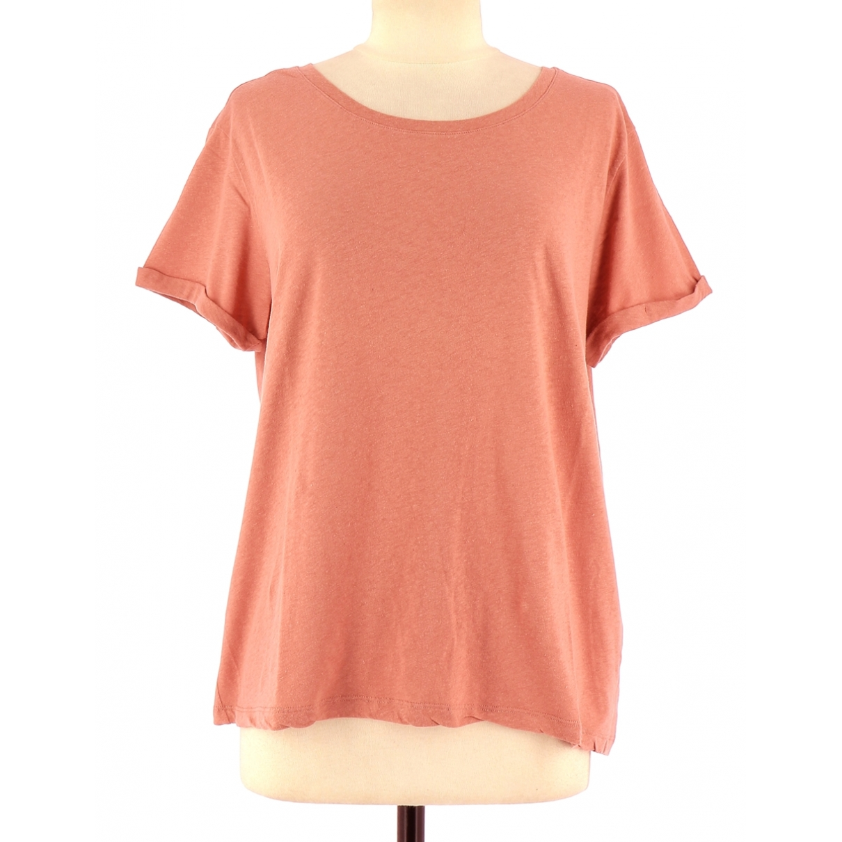 Apc \N Pink Cotton  top for Women 40 FR