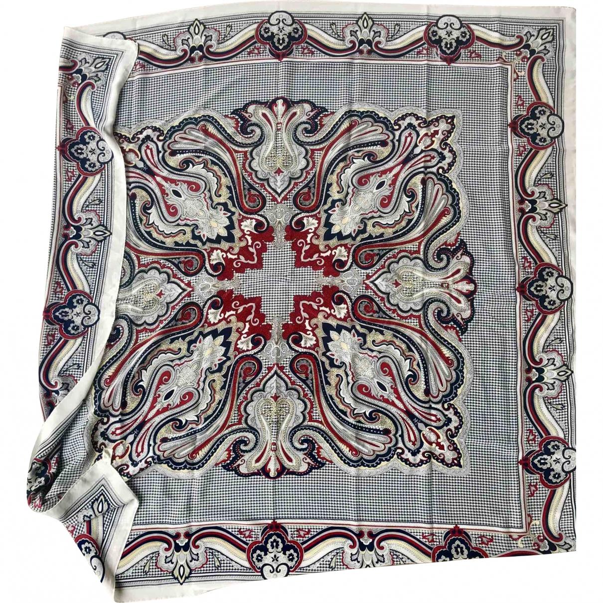 Jaeger \N White Silk scarf for Women \N