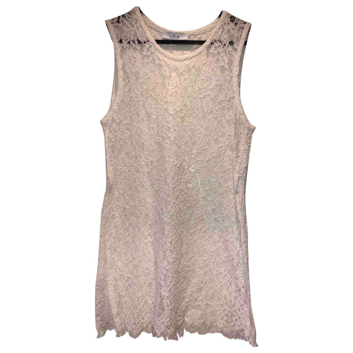 Iro - Top   pour femme en coton - blanc